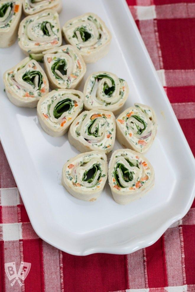 Veggie Cream Cheese Roll Up's