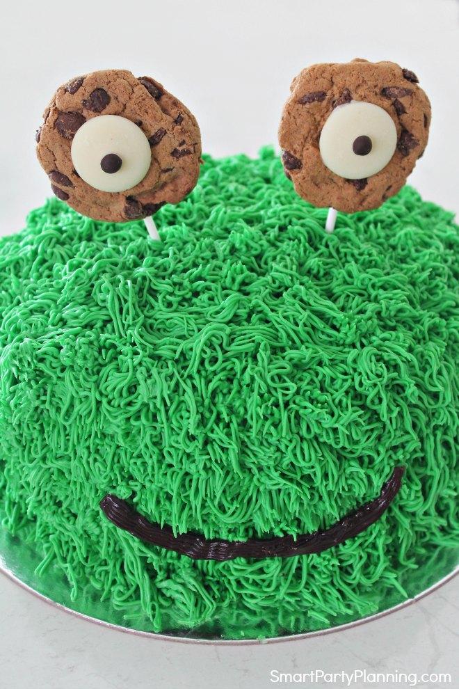 Cute Easy Monster Cake