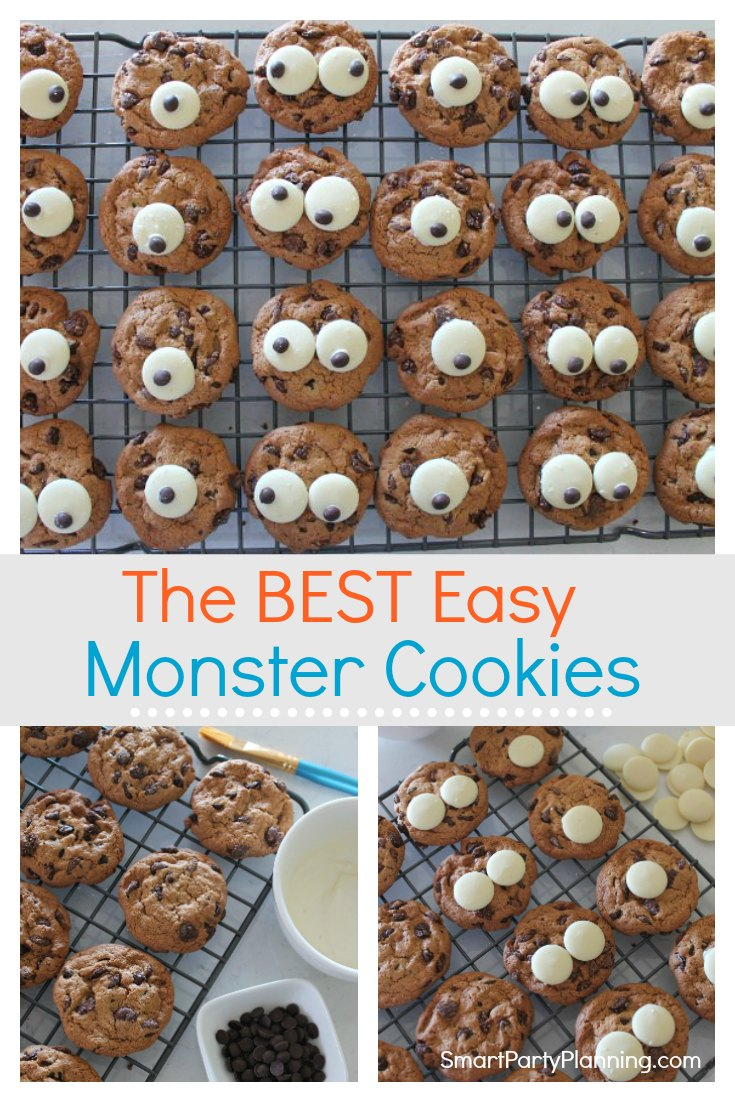 The best easy monster cookies
