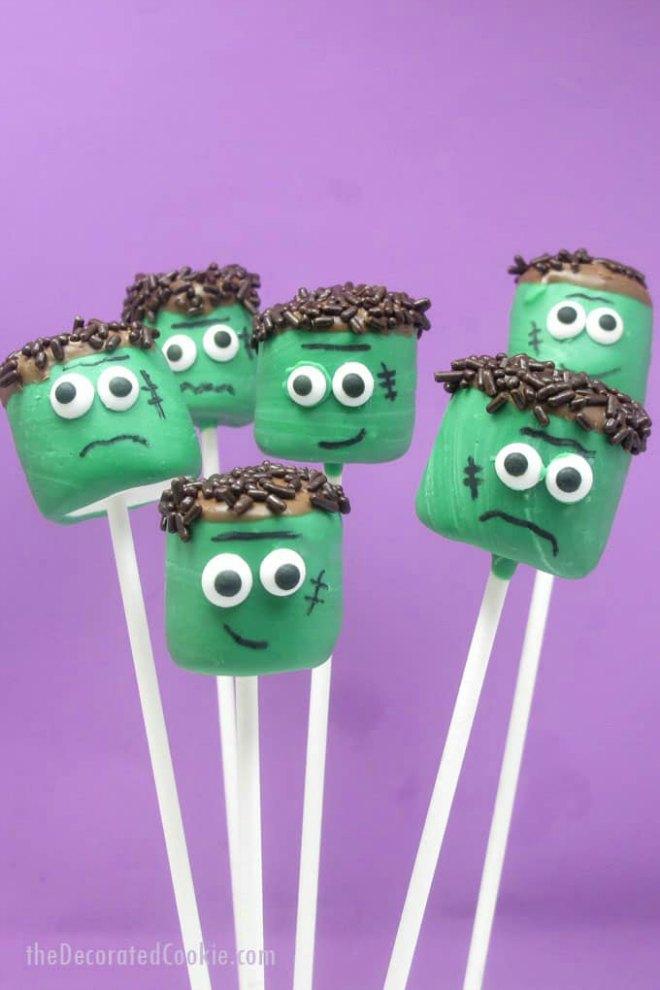 frankenstein-marshmallow-pops-
