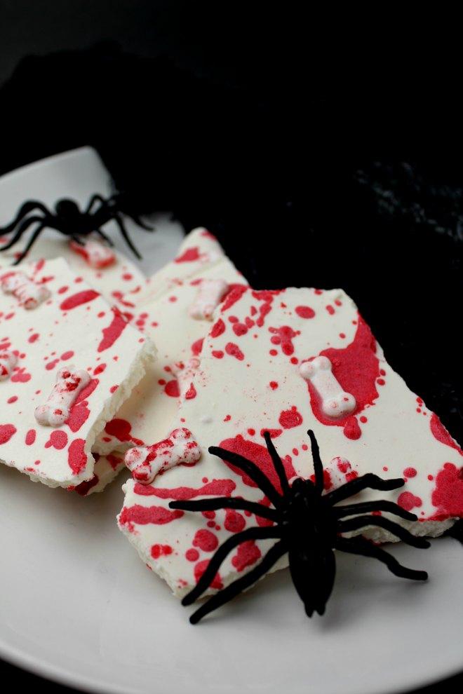 Bloody Halloween Bark