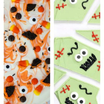 10 of The Best Super Easy Halloween Candy Bark Recipes
