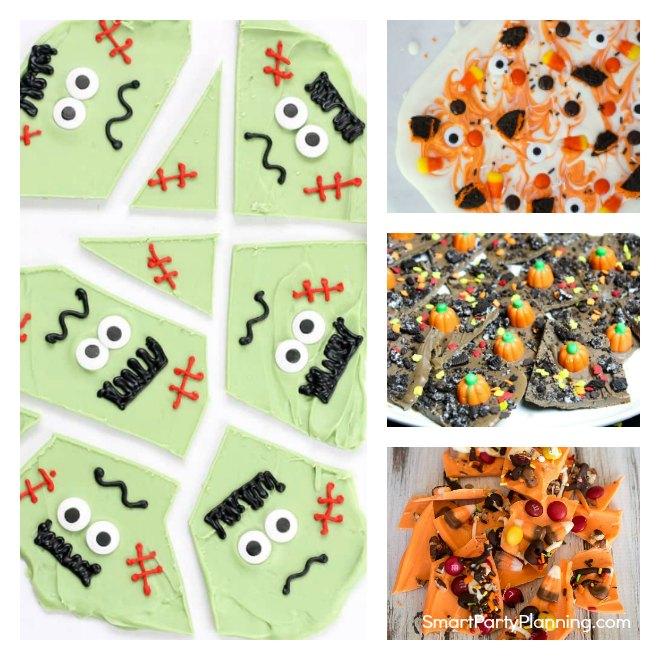 Halloween Candy Bark Recipes