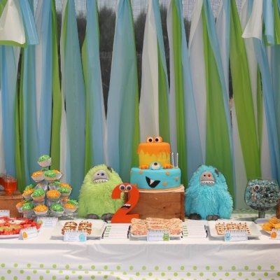 Easy Little Monster Birthday Party The Kids Will Love