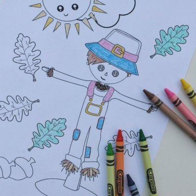 The Best Fall Coloring Sheets Preschoolers Will Love