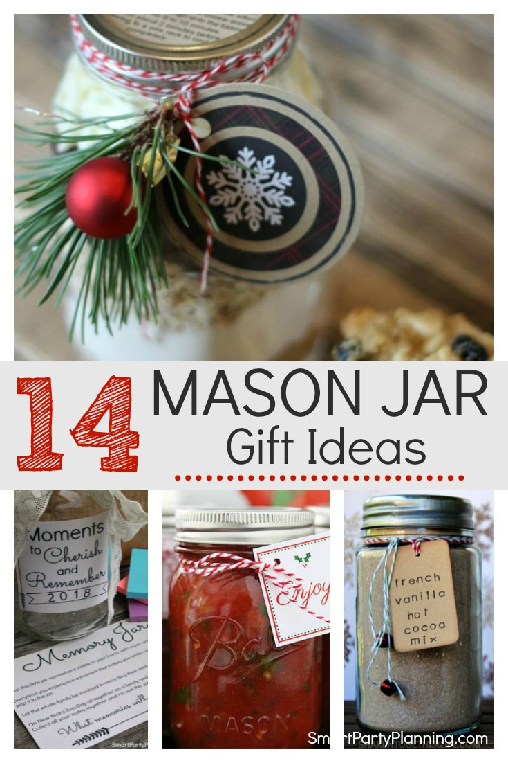 14 Mason Jar Gift Ideas