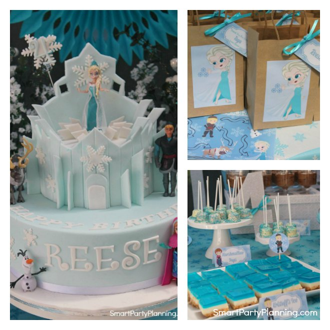 Frozen Party Collage