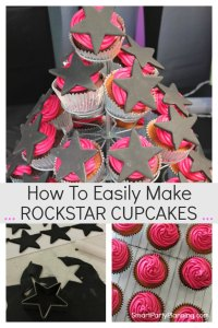 How to easily make rockstar cupcakes