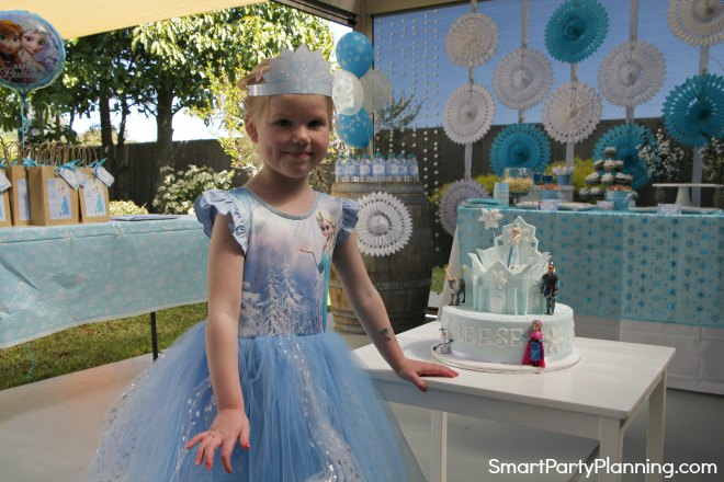 Little Girls Frozen Party