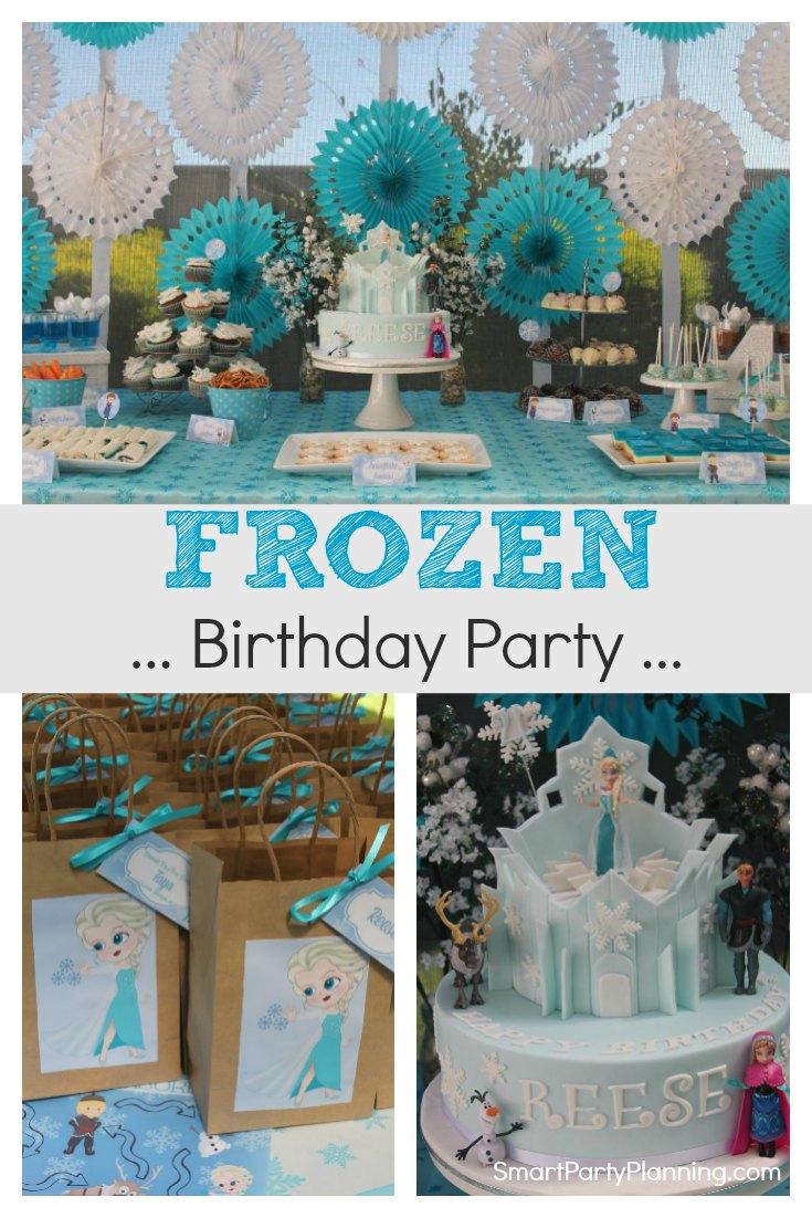 Stunning Frozen Party