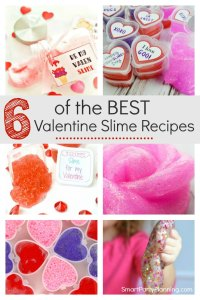 Valentine Slime Recipes
