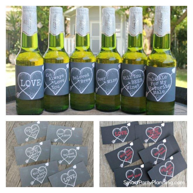 Valentines day best beer labels