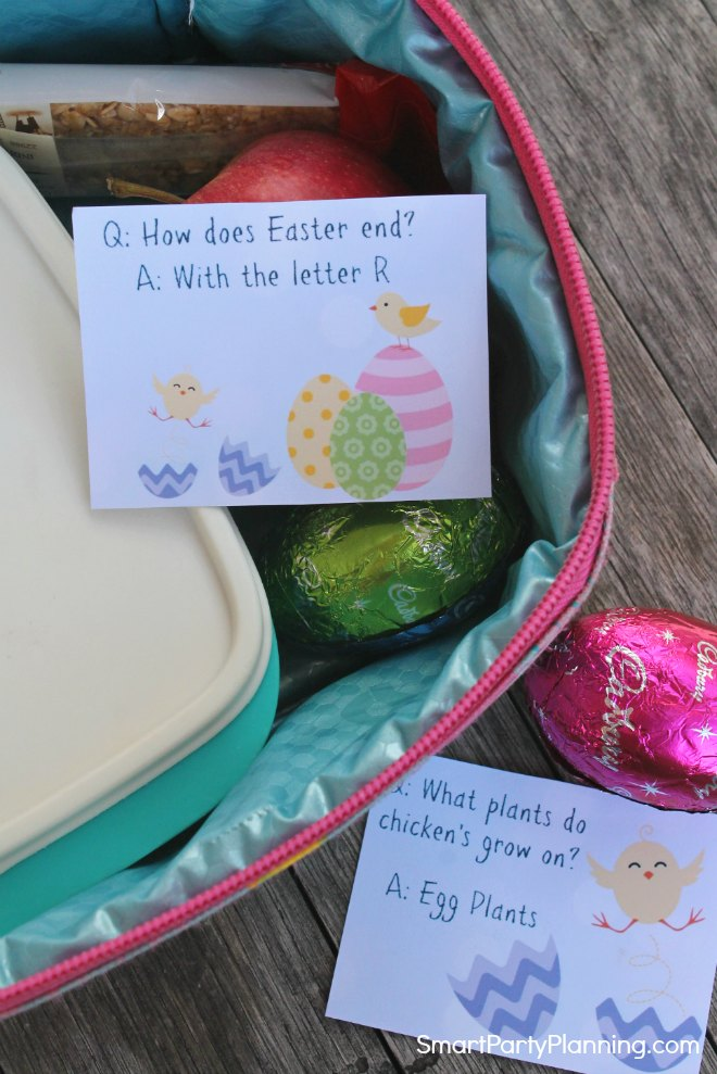 Easter Jokes For Kids in Their Lunch Box