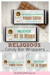 Religious Candy bar wrappers