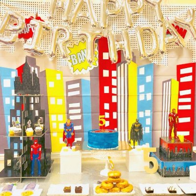 The Most Awesome Superhero Birthday Party