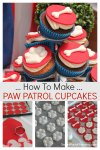 How to make Paw Patrol Cupcakes
