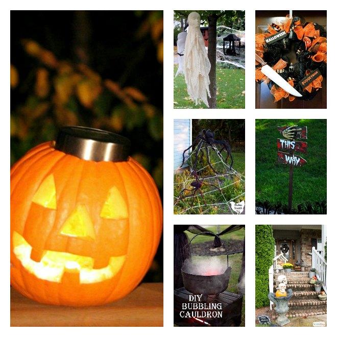 Outdoor Halloween Decorations