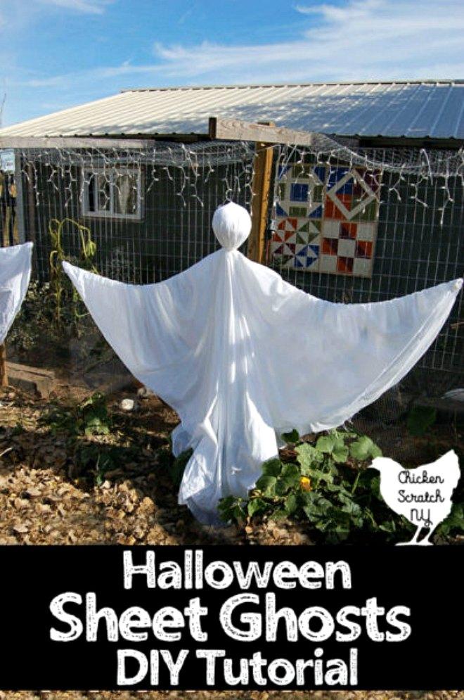Spooky Halloween Ghosts