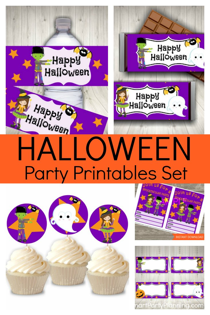Halloween Party Printables Set