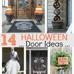 Halloween door ideas