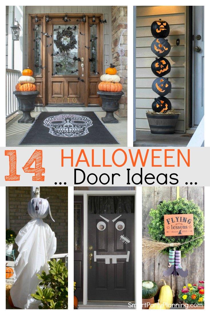 Halloween door ideas
