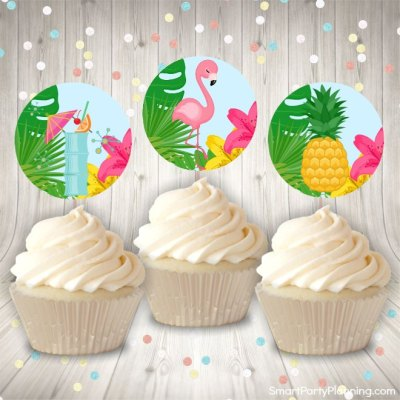 Tropical Party Printables Perfect For An Easy Beautiful Party