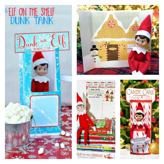 easy free elf on the shelf printables