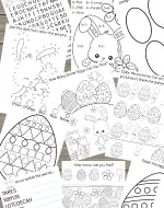 Kids Easter Activity Printable Set