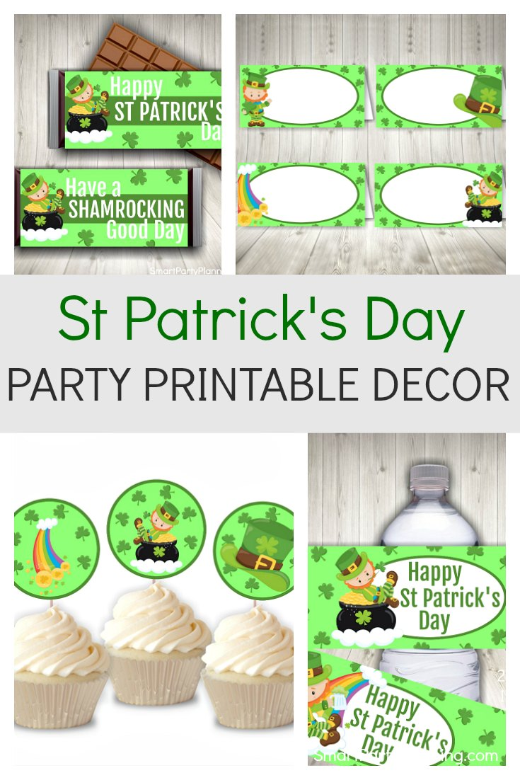 St Patricks Day Party Printable Decor