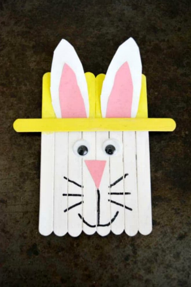 popsicle-stick-easter-bunny-craft