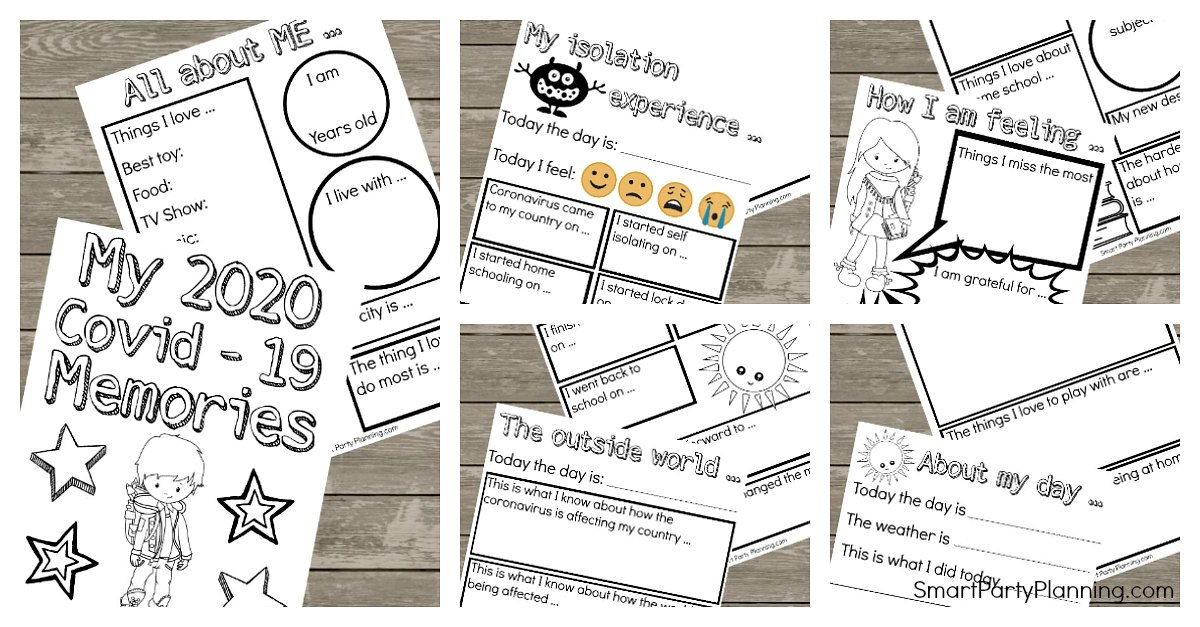 Social Isolation Memory Worksheets