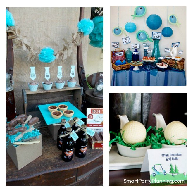 Easy Fathers Day Party Ideas