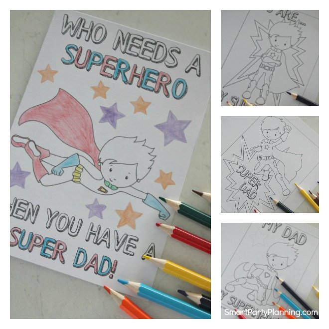 Free Printable Fathers Day Cards To Color