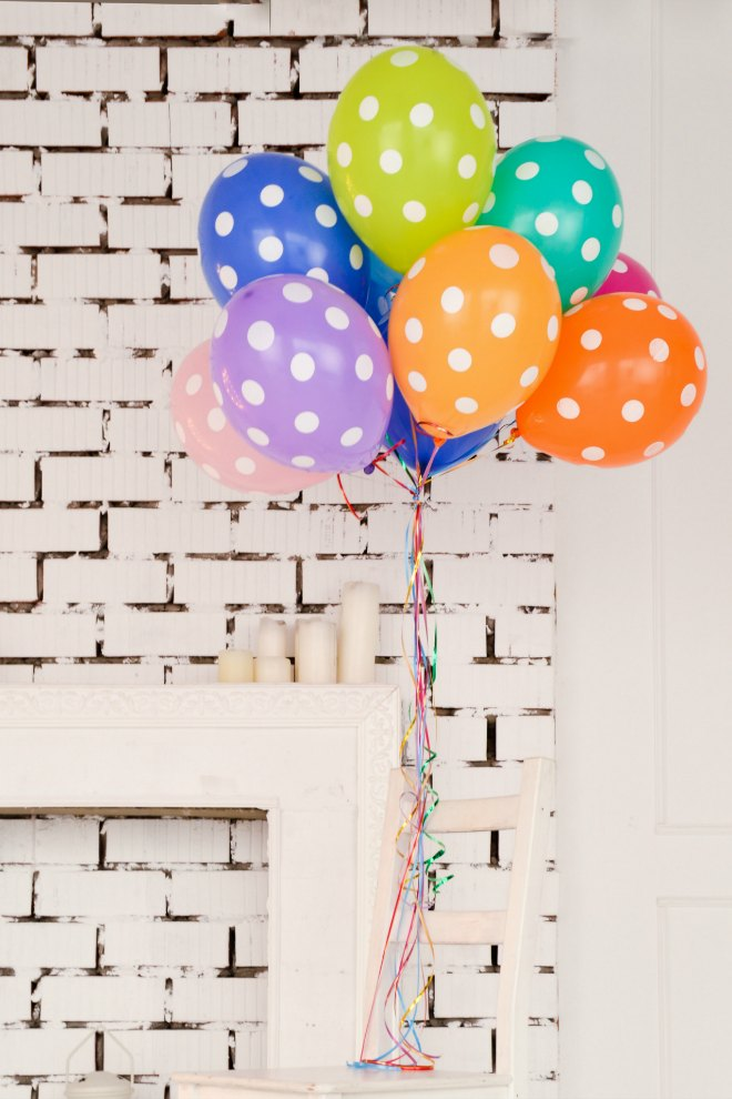 Isolation Birthday balloons