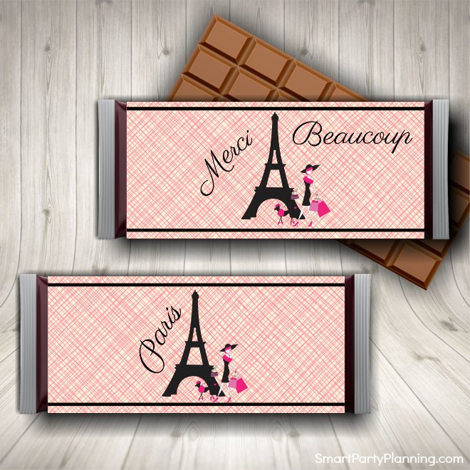 Paris Candy Wrappers