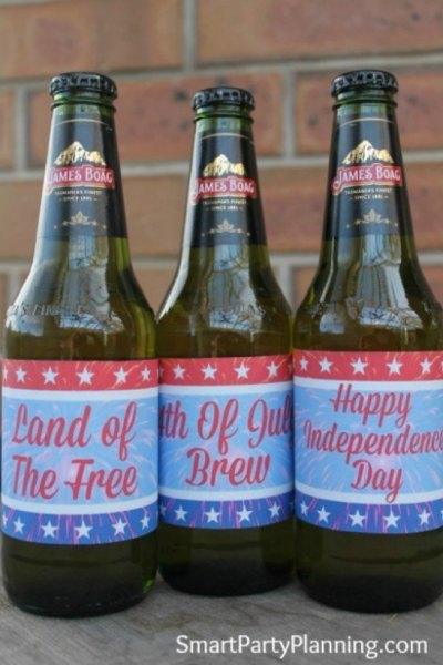 featured 4th of july beer labels