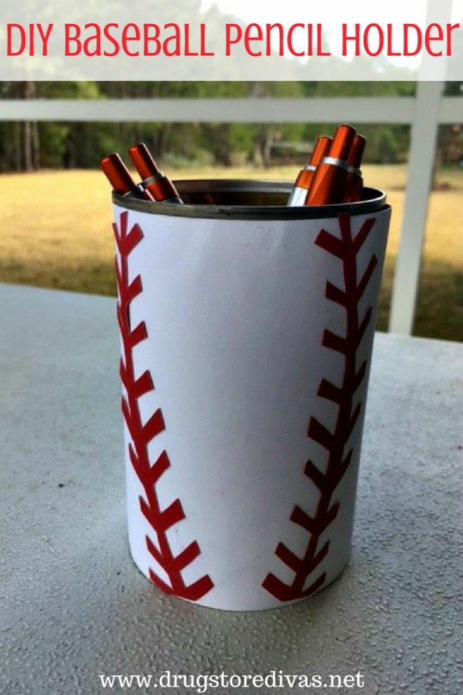 Baseball Cutlery Holder
