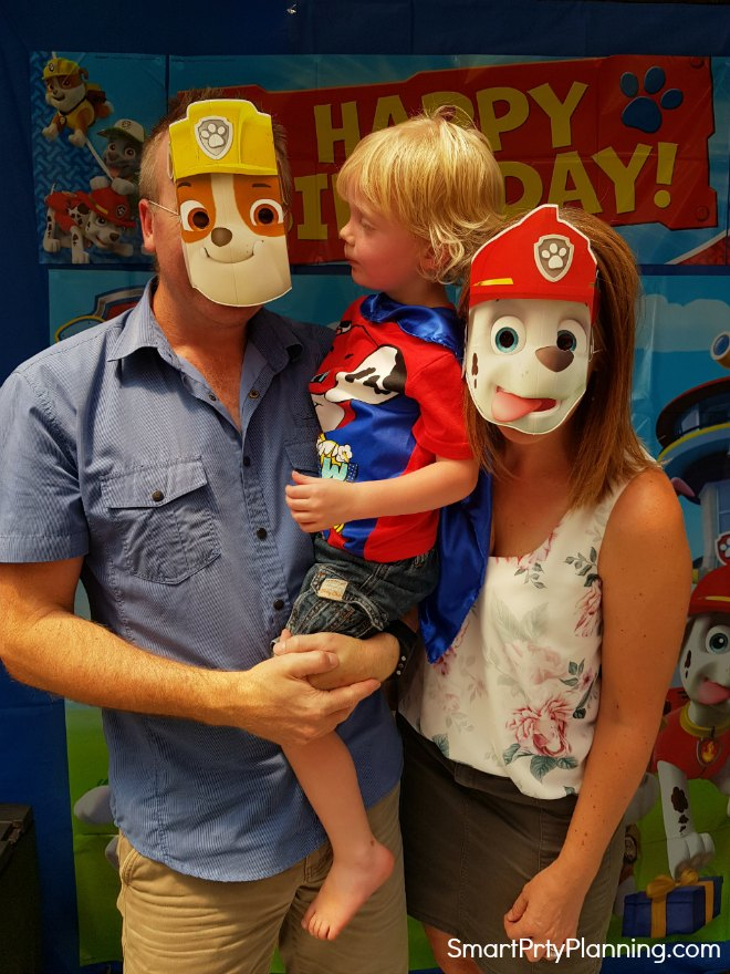 Paw Patrol Photo Booth