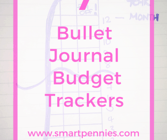 7 Fabulous Bullet Journal Tracker for Budgeting that you can use Today