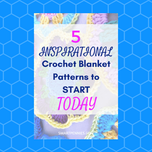 5 Inspirational Crochet Blanket Patterns to try today - Blogging Lifestyle DIY & Crafts