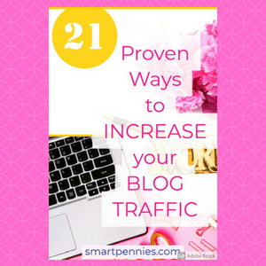 21 FREE TIPS PROVEN to help INCREASE BLOG Traffic - Blogging Lifestyle DIY & Crafts