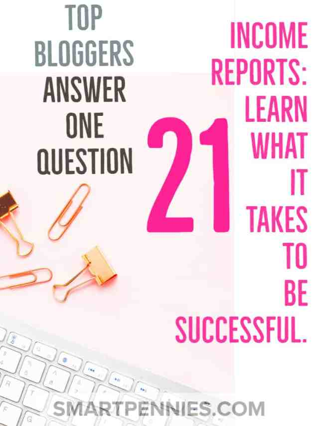 tops bloggers answer one question