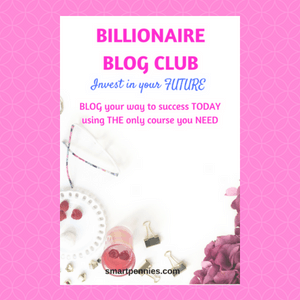 Billionare Blog Club: should you invest in your blogging future? - Blogging Lifestyle DIY & Crafts