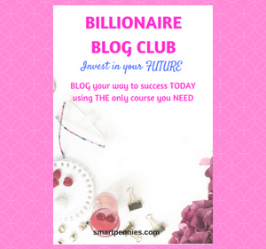 Billionare Blog Club: should you invest in your blogging future?