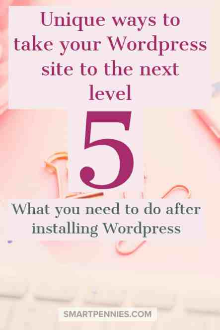 5 unique ways to improve your wordpress site to new levels,from adding plugins to which pages you should be creating make sure you have everything set up correctly on your WordPress site. You don't want to miss this information.