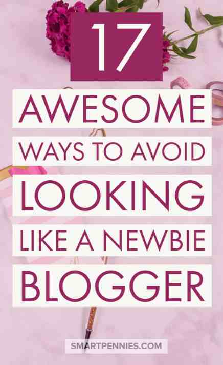 17 Awesome ways to avoid looking like a newbie blogger are you wondering what it is you should do to avoid looking like a newbie? I have 7 tips to help you look awesome!