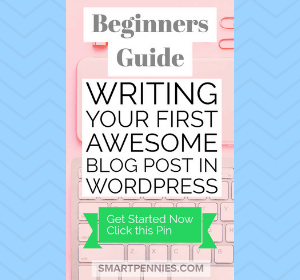 Beginners Easy guide to writing your First Awesome post