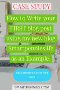 Do you know how you are going to write you first post? This ultimate guide will walk you through the process step by step using my new blog as an example and showing you what I am doing to write my first post for this new Site. So click through to read my beginners guide to Writing your first Awesome post today.