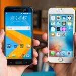 HTC10とiPhone6sを比較-デザイン編