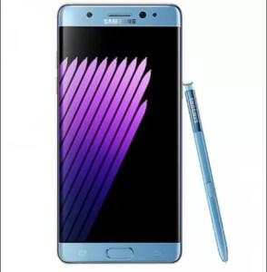 Galaxy Note7ブルーの画像リーク!